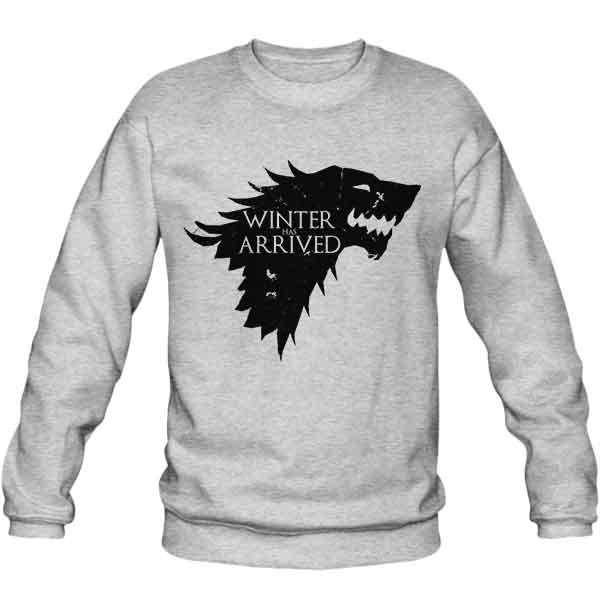 سویشرت ملانژ Winter Has Arrived