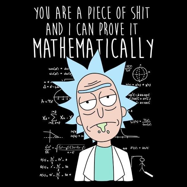 mathematically-rick-t-shirt