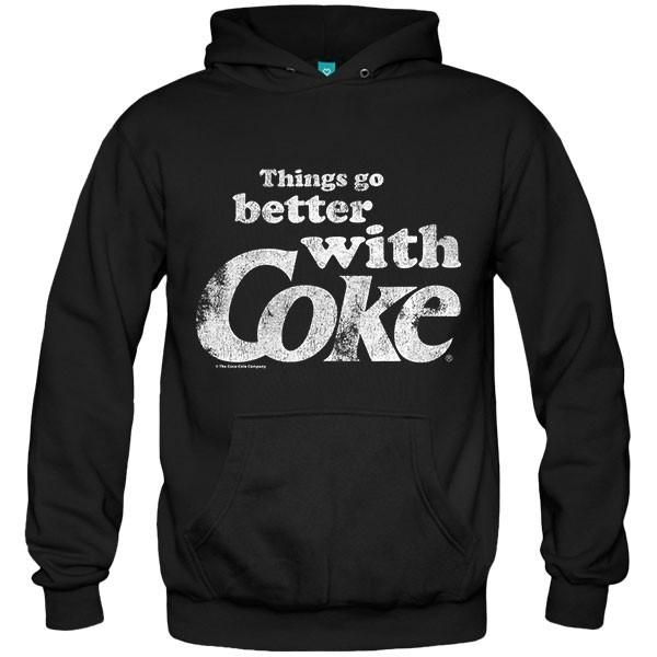 سویشرت هودی Better With Coke