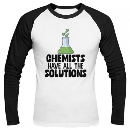 تیشرت آستین بلند رگلان Chemists Have All The Solutions