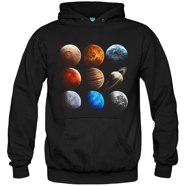 سویشرت هودی Meeting planets