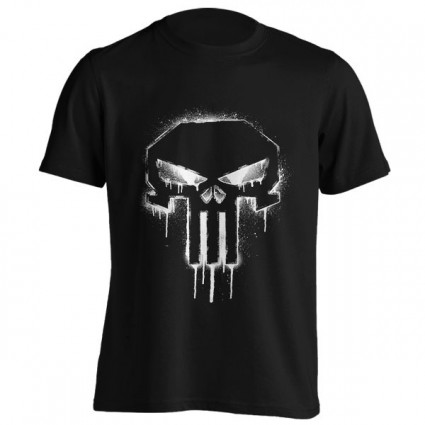 تیشرت Punisher Spray Paint Logo
