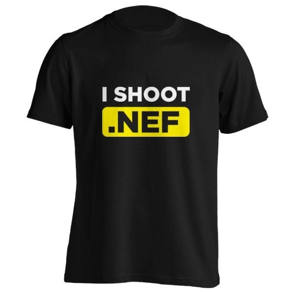 تیشرت I Shoot NEF