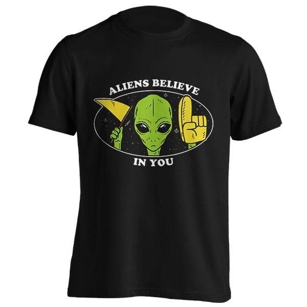 تیشرت Aliens Believe In You