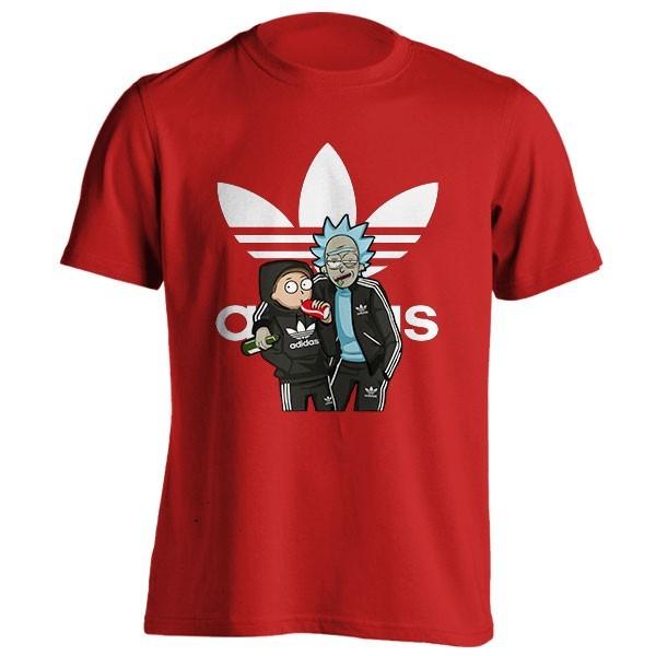 تیشرت Rick And Morty Adidas