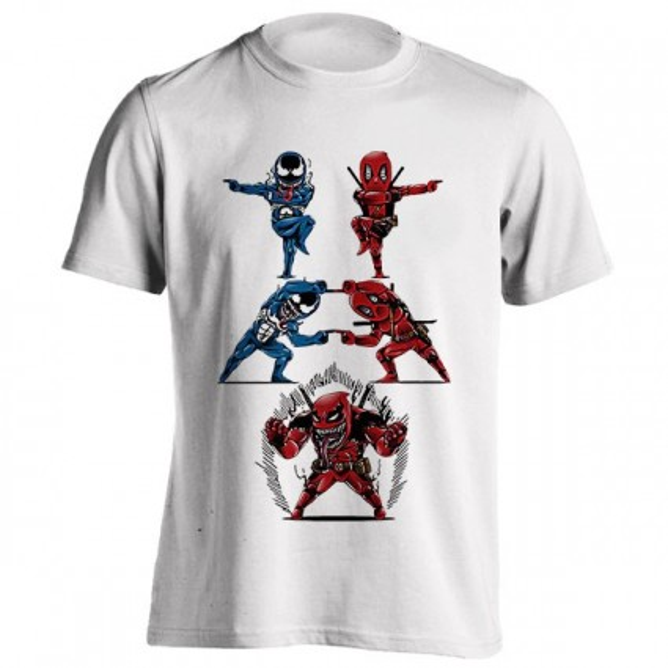 تیشرت Deadpool Venom Fusion
