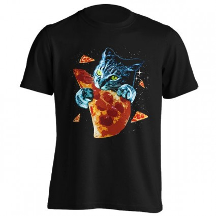تیشرت Pizza Cat in Space