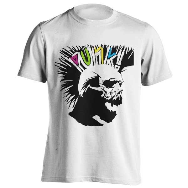 تیشرت Punk Rock Skull