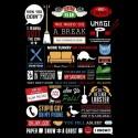 تیشرت آستین بلند Friends Infographic