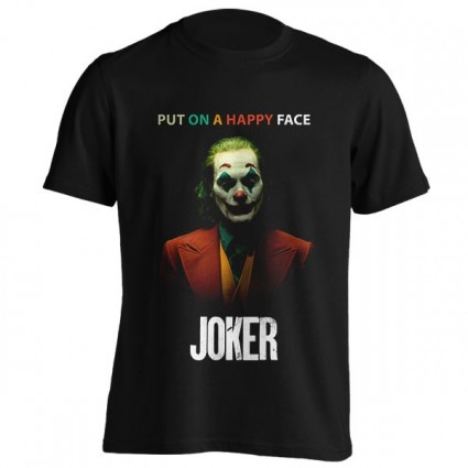 تیشرت Joker - Put on a happy face