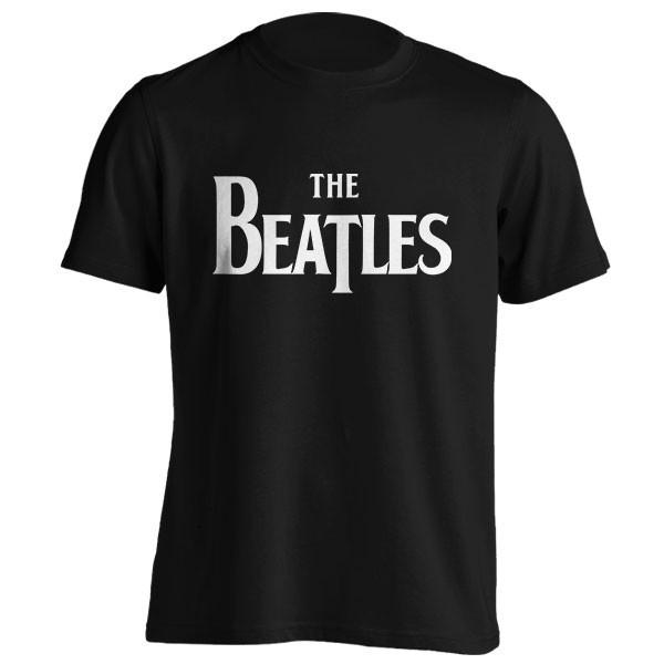 تیشرت گروه بیتلز طرح لوگو