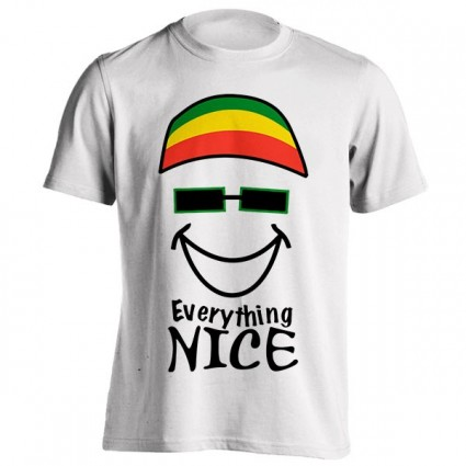 تیشرت جامائیکا طرح Everything Nice