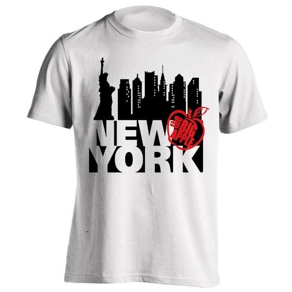 تیشرت گرافیکی طرح New York