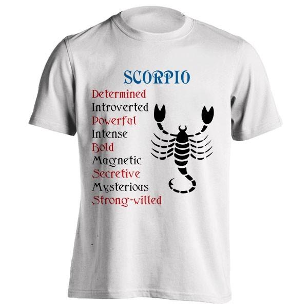 تیشرت متولدین آبان طرح Horoscope