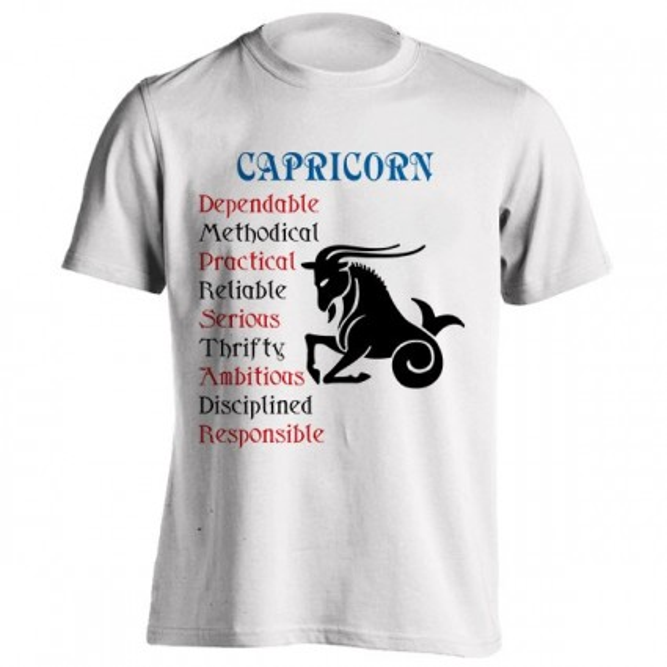 تیشرت متولدین دی طرح Horoscope
