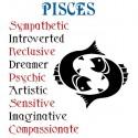 تیشرت متولدین اسفند طرح Horoscope