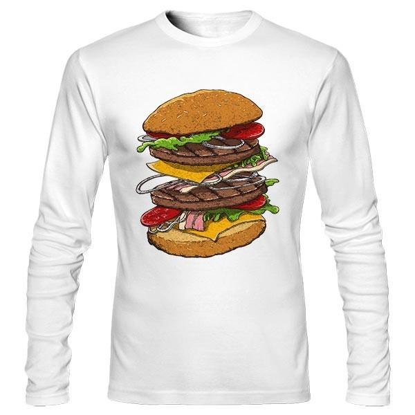 تیشرت آستین بلند Hamburger