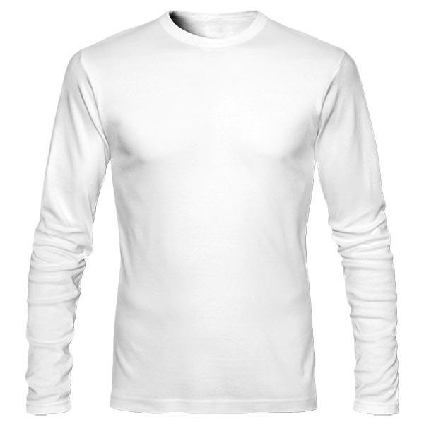 تیشرت آستین بلند ساده بدون چاپ