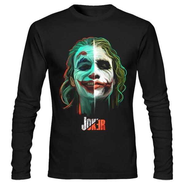 تیشرت آستین بلند Joker vs. Joker