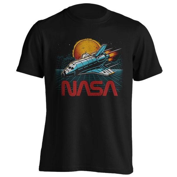 تیشرت NASA Synthwave