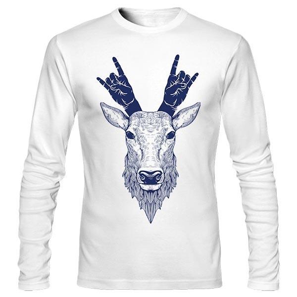 تیشرت آستین بلند Hipster Deer