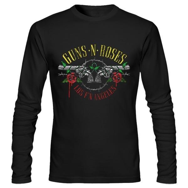 تی شرت آستین بلند Guns N' Roses Top Hat Guns