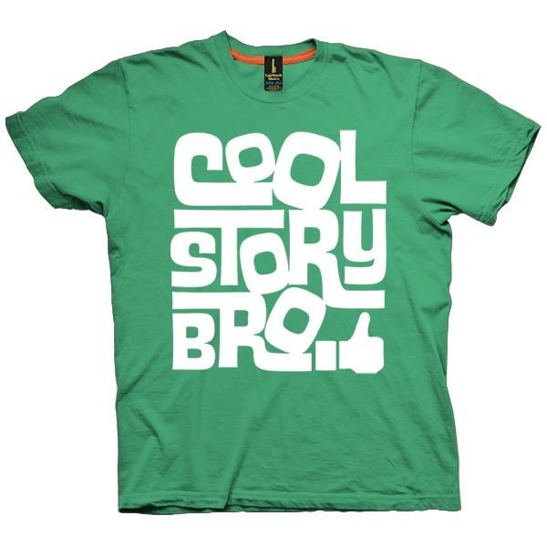 تیشرت گرافیکی طرح Cool Story Bro