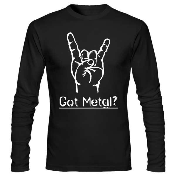 تی شرت آستین بلند Got Metal