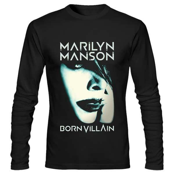 تیشرت آستین بلند Marilyn Manson
