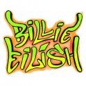 سویشرت هودی ملانژ Neon Graffiti Art Billie Eilish