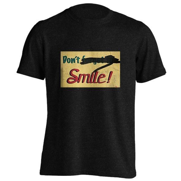 تیشرت ملانژ Don't Forget to Smile