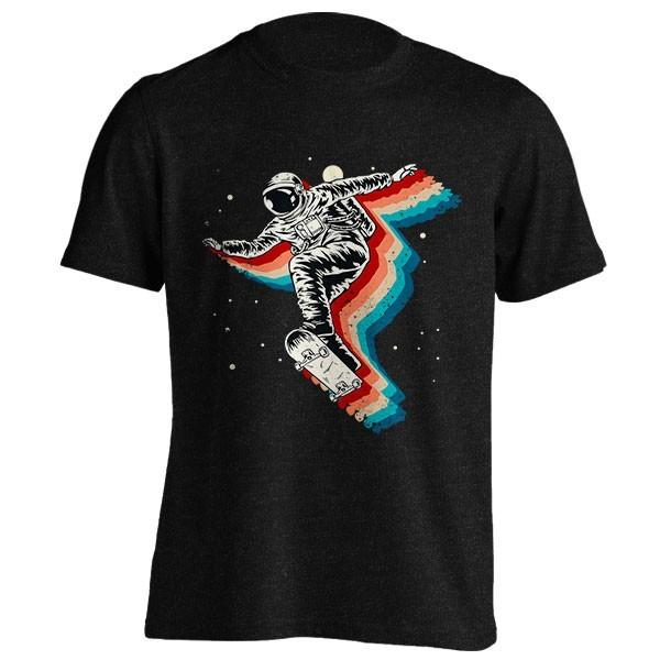 تیشرت ملانژ Space Skater