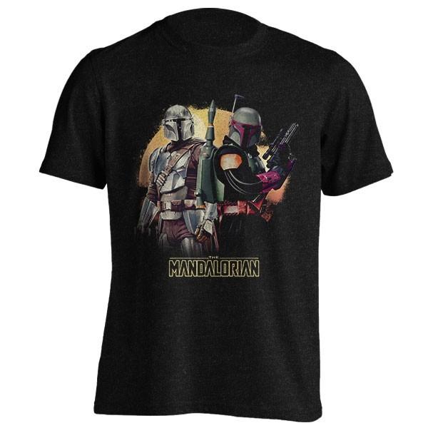 تیشرت ملانژ Star Wars Mandalorian Boba Fett
