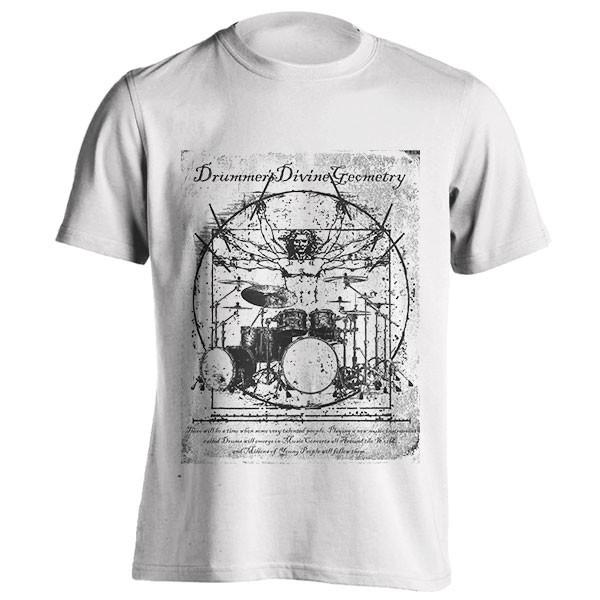 تیشرت Da Vinci Drums Perfect Drummer